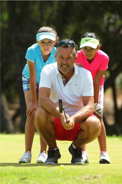 Le golf un jeu d'enfants